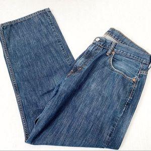 Levi's 569 Loose Straight Fit Medium Wash Jeans